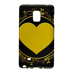 Background Heart Romantic Love Galaxy Note Edge by Sapixe