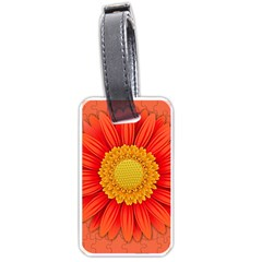 Flower Plant Petal Summer Color Luggage Tags (one Side)  by Sapixe