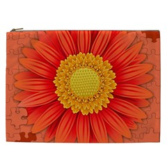 Flower Plant Petal Summer Color Cosmetic Bag (xxl)