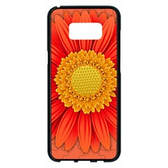 Flower Plant Petal Summer Color Samsung Galaxy S8 Plus Black Seamless Case by Sapixe