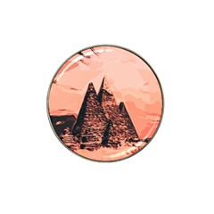 Pyramid Egypt Monumental Hat Clip Ball Marker (4 Pack) by Sapixe