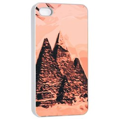 Pyramid Egypt Monumental Apple Iphone 4/4s Seamless Case (white)