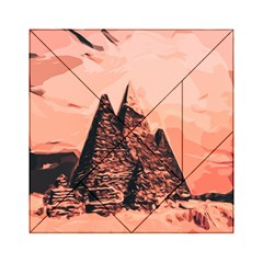 Pyramid Egypt Monumental Acrylic Tangram Puzzle (6  X 6 ) by Sapixe