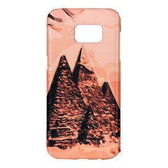Pyramid Egypt Monumental Samsung Galaxy S7 Edge Hardshell Case by Sapixe