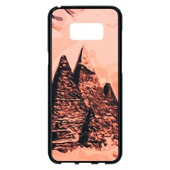 Pyramid Egypt Monumental Samsung Galaxy S8 Plus Black Seamless Case by Sapixe