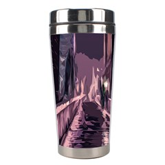 Texture Abstract Background City Stainless Steel Travel Tumblers