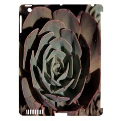 Succulent Green Pink Rosettes Apple Ipad 3/4 Hardshell Case (compatible With Smart Cover)