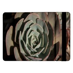 Succulent Green Pink Rosettes Samsung Galaxy Tab Pro 12 2  Flip Case
