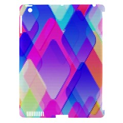 Squares Color Squares Background Apple Ipad 3/4 Hardshell Case (compatible With Smart Cover)