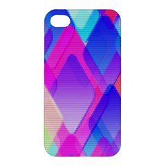 Squares Color Squares Background Apple Iphone 4/4s Premium Hardshell Case