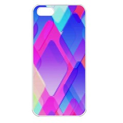 Squares Color Squares Background Apple Iphone 5 Seamless Case (white)