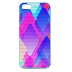 Squares Color Squares Background Apple Seamless Iphone 5 Case (color)