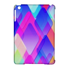 Squares Color Squares Background Apple Ipad Mini Hardshell Case (compatible With Smart Cover) by Sapixe