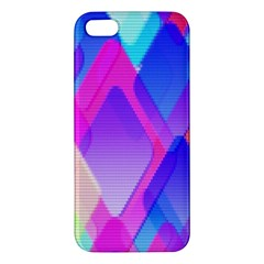 Squares Color Squares Background Apple Iphone 5 Premium Hardshell Case