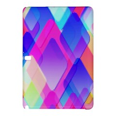 Squares Color Squares Background Samsung Galaxy Tab Pro 10 1 Hardshell Case