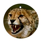 Cheetah Ornament (Round)