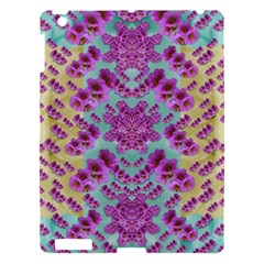 Climbing And Loving Beautiful Flowers Of Fantasy Floral Apple Ipad 3/4 Hardshell Case