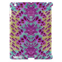 Climbing And Loving Beautiful Flowers Of Fantasy Floral Apple Ipad 3/4 Hardshell Case (compatible With Smart Cover)
