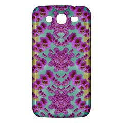 Climbing And Loving Beautiful Flowers Of Fantasy Floral Samsung Galaxy Mega 5 8 I9152 Hardshell Case