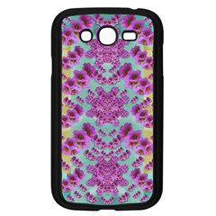 Climbing And Loving Beautiful Flowers Of Fantasy Floral Samsung Galaxy Grand Duos I9082 Case (black)