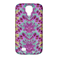 Climbing And Loving Beautiful Flowers Of Fantasy Floral Samsung Galaxy S4 Classic Hardshell Case (pc+silicone)