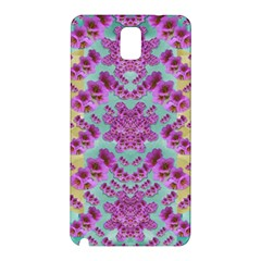 Climbing And Loving Beautiful Flowers Of Fantasy Floral Samsung Galaxy Note 3 N9005 Hardshell Back Case