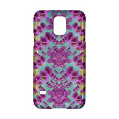 Climbing And Loving Beautiful Flowers Of Fantasy Floral Samsung Galaxy S5 Hardshell Case