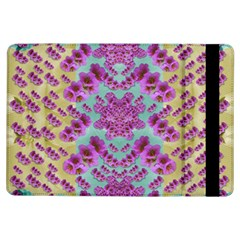 Climbing And Loving Beautiful Flowers Of Fantasy Floral Ipad Air Flip by pepitasart