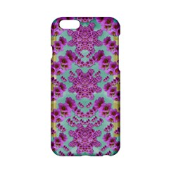Climbing And Loving Beautiful Flowers Of Fantasy Floral Apple Iphone 6/6s Hardshell Case