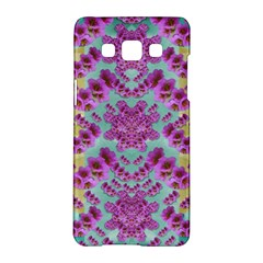 Climbing And Loving Beautiful Flowers Of Fantasy Floral Samsung Galaxy A5 Hardshell Case