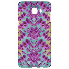 Climbing And Loving Beautiful Flowers Of Fantasy Floral Samsung C9 Pro Hardshell Case