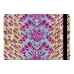 Climbing And Loving Beautiful Flowers Of Fantasy Floral Apple Ipad Pro 10 5   Flip Case
