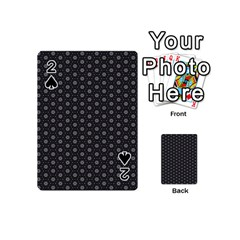 Geometric Pattern Dark Playing Cards 54 (mini)