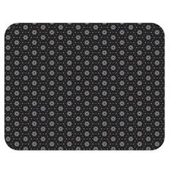 Geometric Pattern Dark Double Sided Flano Blanket (medium)