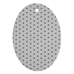 Geometric Pattern Light Ornament (oval)
