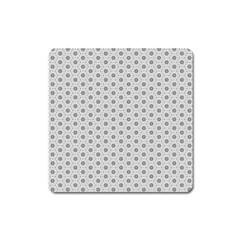 Geometric Pattern Light Square Magnet