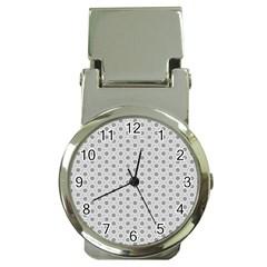 Geometric Pattern Light Money Clip Watches