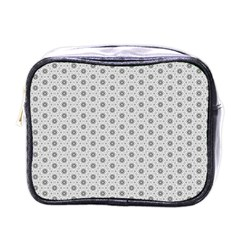 Geometric Pattern Light Mini Toiletries Bags