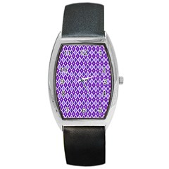 Jess Violet Barrel Style Metal Watch