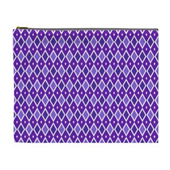 Jess Violet Cosmetic Bag (xl) by jumpercat