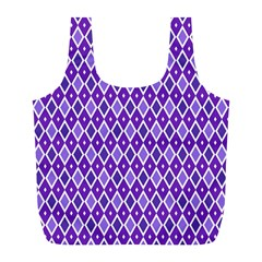 Jess Violet Full Print Recycle Bags (l)