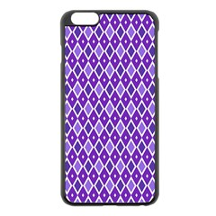 Jess Violet Apple Iphone 6 Plus/6s Plus Black Enamel Case