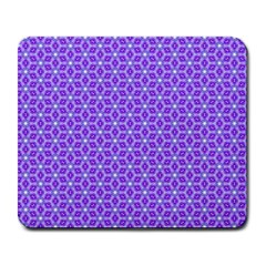 Lavender Tiles Large Mousepads