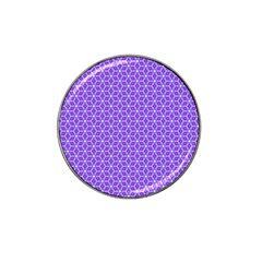 Lavender Tiles Hat Clip Ball Marker (10 Pack) by jumpercat