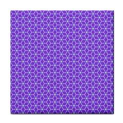 Lavender Tiles Face Towel