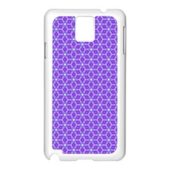 Lavender Tiles Samsung Galaxy Note 3 N9005 Case (white) by jumpercat