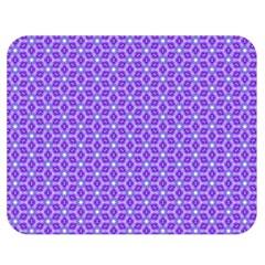 Lavender Tiles Double Sided Flano Blanket (medium)