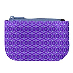 Lavender Tiles Large Coin Purse by jumpercat