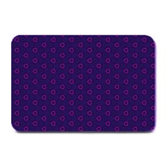 Dark Tech Fruit Pattern Plate Mats