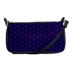 Dark Tech Fruit Pattern Shoulder Clutch Bags
